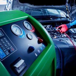 Servicing,Car,Air,Conditioner.,Service,Station.,Car,Repair.